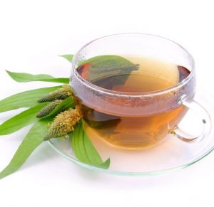 Чай с подорожником лучше принимать перед сном.
