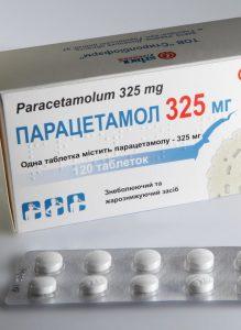 Добиться нужной температуры тела поможет парацетамола.