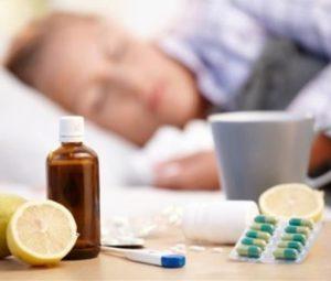 Много пить и лежать в постели - путь к быстрому выздоровлению.