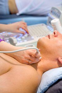 Гипоплазию щитовидки можна диагностировать с помощью УЗИ.