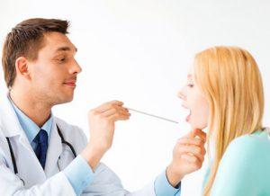 Для диагностики заболевания необходимо сделать фарингоскопию.