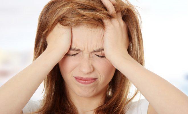 Также невроз может вызвать мигрень.