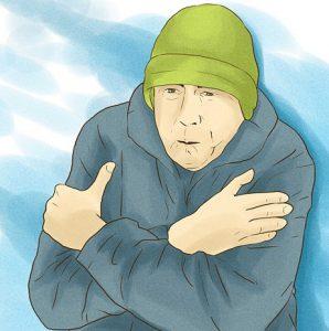 Переохлаждение - одна из причин катаральной ангины