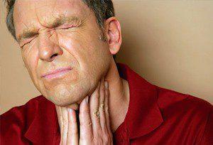 невыносимая боль в горле основание языка