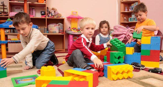 Дети в садике имеют повышеные шансы заболеть.