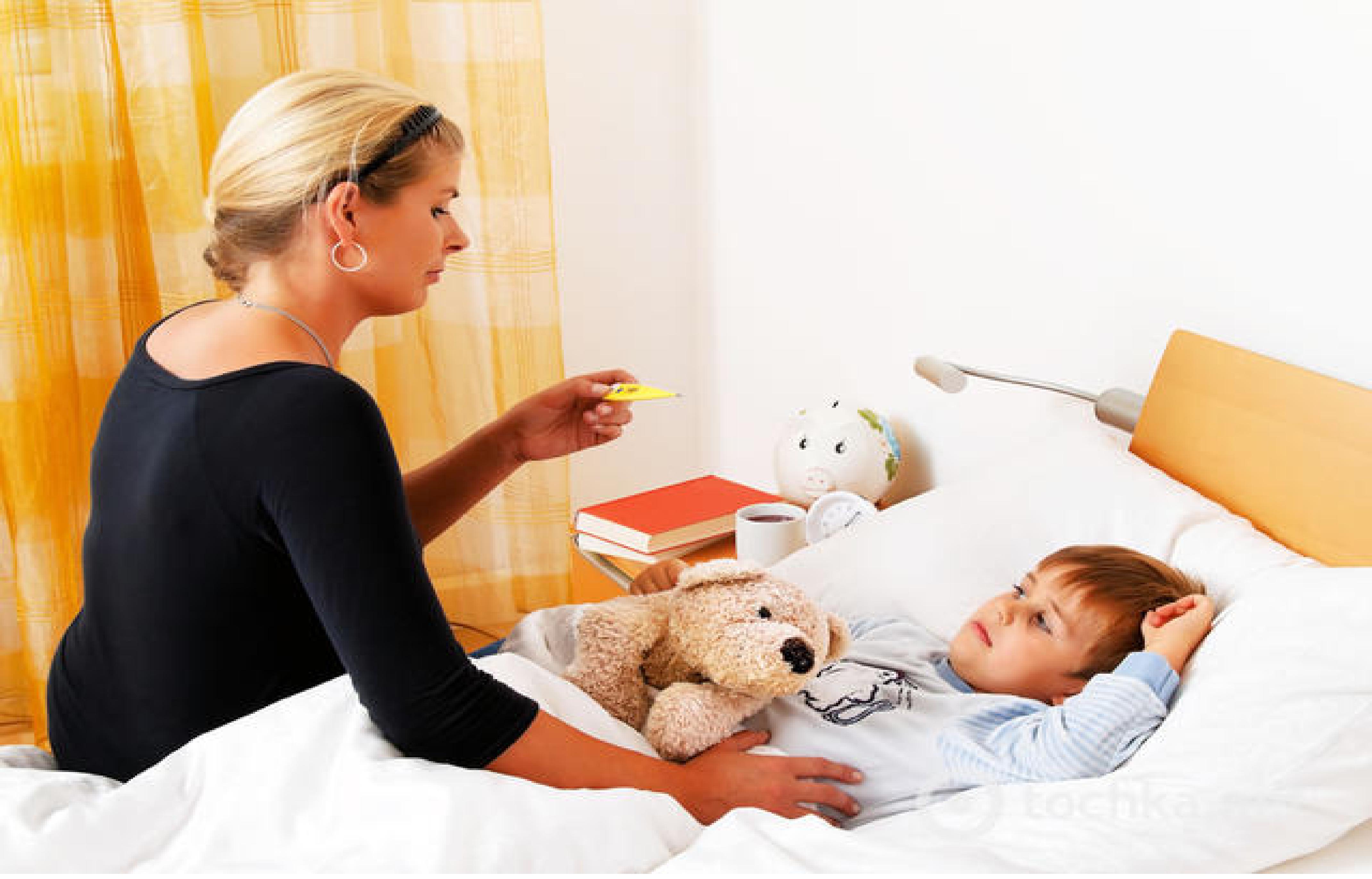 У детей болезнь протекает тяжелее, чем у взрослых.