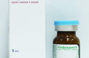 Эффективный препарат Софрадекс для детей при аденоидах.